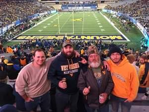 Jesse attended West Virginia Mountaineers vs. Baylor Bears - NCAA Football on Oct 25th 2018 via VetTix