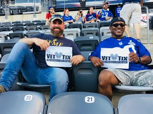 Najee attended New York Giants vs. Tennessee Titans - NFL on Dec 16th 2018 via VetTix