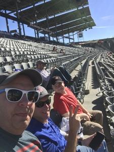 James attended Colorado Rapids vs. FC Dallas - MLS on Oct 28th 2018 via VetTix