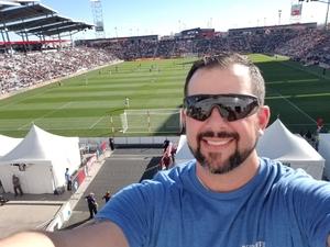 Eric attended Colorado Rapids vs. FC Dallas - MLS on Oct 28th 2018 via VetTix