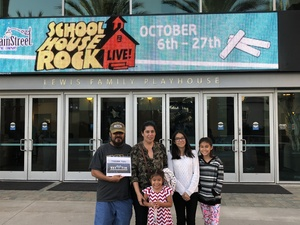 CABBIE attended School House Rock Live Events on Oct 27th 2018 via VetTix