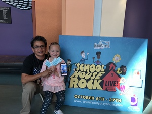 Sonia Marcos attended School House Rock Live Events on Oct 27th 2018 via VetTix