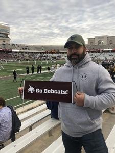 Nel attended Texas State University Bobcats vs. Appalachian State - NCAA Football - Military Appreciation Game on Nov 10th 2018 via VetTix