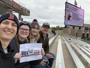 Timothy attended Texas State University Bobcats vs. Appalachian State - NCAA Football - Military Appreciation Game on Nov 10th 2018 via VetTix