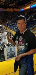 David attended University of California Berkeley Golden Bears vs. San Diego State - NCAA Mens Basketball on Dec 8th 2018 via VetTix
