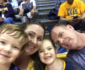 Harold attended University of California Berkeley Golden Bears vs. Arizona - NCAA Mens Basketball on Jan 12th 2019 via VetTix