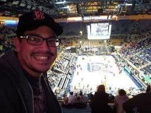 Dick attended University of California Berkeley Golden Bears vs. Arizona - NCAA Mens Basketball on Jan 12th 2019 via VetTix