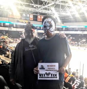 kevin attended Kansas City Mavericks vs. Allen Americans - ECHL on Nov 6th 2018 via VetTix