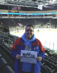 Theresa attended Kansas City Mavericks vs. Tulsa Oilers - ECHL on Nov 30th 2018 via VetTix