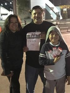 Corey attended Legacy Fighting Alliance 54 - Tracking Attendance - Mixed Martial Arts - Presented by Legacy Fighting Alliance on Nov 16th 2018 via VetTix