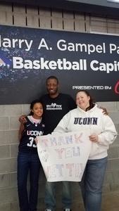 Christopher attended UCONN Huskies vs. Ohio State Buckeyes - NCAA Women's Basketball - Home Opener on Nov 11th 2018 via VetTix