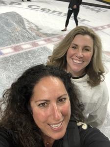 Jennifer attended San Jose Sharks vs. Calgary Flames - NHL - Military Appreciation Night - After Game on Ice Photo Opportunity on Nov 11th 2018 via VetTix