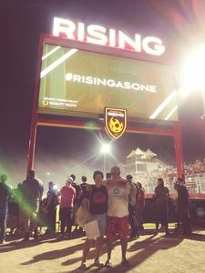 Carlos attended Phoenix Rising vs Swope Park Rangers - USL Western Semifinals on Oct 26th 2018 via VetTix