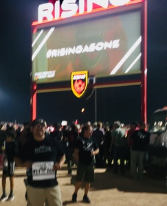 miguel attended Phoenix Rising vs Swope Park Rangers - USL Western Semifinals on Oct 26th 2018 via VetTix