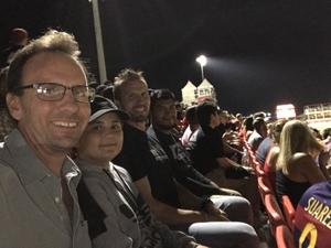 Russ attended Phoenix Rising vs Swope Park Rangers - USL Western Semifinals on Oct 26th 2018 via VetTix