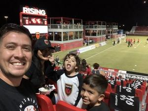 Eddie attended Phoenix Rising vs Swope Park Rangers - USL Western Semifinals on Oct 26th 2018 via VetTix