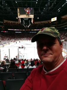 Rob attended Arizona Coyotes vs. Ottawa Senators - NHL on Oct 30th 2018 via VetTix