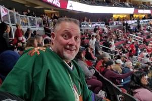 Leonard attended Arizona Coyotes vs. Ottawa Senators - NHL on Oct 30th 2018 via VetTix
