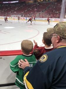Mark attended Arizona Coyotes vs. Ottawa Senators - NHL on Oct 30th 2018 via VetTix