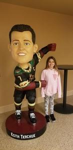 James attended Arizona Coyotes vs. Ottawa Senators - NHL on Oct 30th 2018 via VetTix