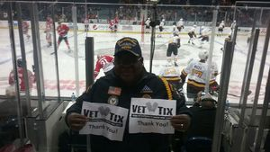 Alvis attended Chicago Wolves vs. Rockford Icehogs - AHL - Military Appreciation Weekend - Special Instructions * See Notes on Nov 10th 2018 via VetTix