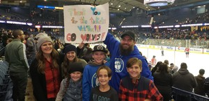 Joshua attended Chicago Wolves vs. Rockford Icehogs - AHL - Military Appreciation Weekend - Special Instructions * See Notes on Nov 10th 2018 via VetTix