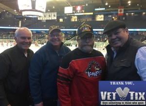 Steve attended Chicago Wolves vs. Rockford Icehogs - AHL - Military Appreciation Weekend - Special Instructions * See Notes on Nov 10th 2018 via VetTix