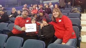 Andrew attended Chicago Wolves vs. Milwaukee Admirals - AHL - Military Appreciation Weekend - Special Instructions * See Notes on Nov 11th 2018 via VetTix