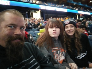Michael attended Chicago Wolves vs. Milwaukee Admirals - AHL - Military Appreciation Weekend - Special Instructions * See Notes on Nov 11th 2018 via VetTix