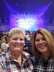 Kimberly attended Jake Owen - Life's Whatcha Make It Tour on Oct 26th 2018 via VetTix