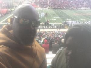 TruPittFan attended University of Maryland vs. Michigan State - NCAA Football on Nov 3rd 2018 via VetTix