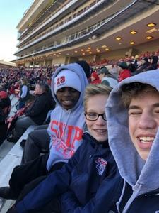 Tim attended University of Maryland vs. Michigan State - NCAA Football on Nov 3rd 2018 via VetTix