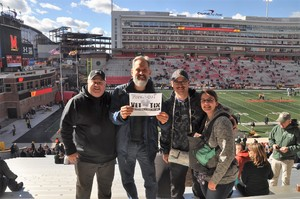 Alan attended University of Maryland vs. Michigan State - NCAA Football on Nov 3rd 2018 via VetTix