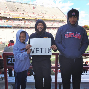 Crews attended University of Maryland vs. Michigan State - NCAA Football on Nov 3rd 2018 via VetTix