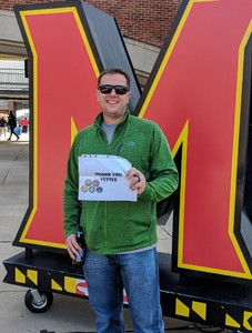 David attended University of Maryland vs. Michigan State - NCAA Football on Nov 3rd 2018 via VetTix