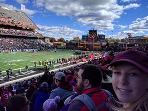 Alan attended University of Maryland vs. Michigan State - NCAA Football on Nov 3rd 2018 via VetTix