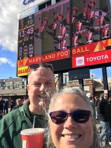 Catherine attended University of Maryland vs. Michigan State - NCAA Football on Nov 3rd 2018 via VetTix