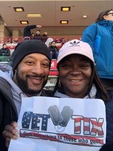 Rose attended University of Maryland vs. Michigan State - NCAA Football on Nov 3rd 2018 via VetTix