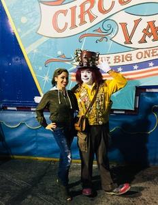 MARIA attended Circus Vargas on Nov 1st 2018 via VetTix