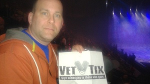 Cliff attended Disney on Ice: Worlds of Enchantment - Special Instructions & Information * See Notes Before Claiming! on Nov 9th 2018 via VetTix