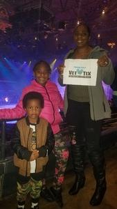 Zach M. attended Disney on Ice: Worlds of Enchantment - Special Instructions & Information * See Notes Before Claiming! on Nov 9th 2018 via VetTix