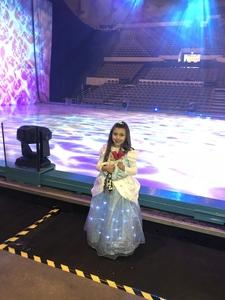 Leticia attended Disney on Ice: Worlds of Enchantment - Special Instructions & Information * See Notes Before Claiming! on Nov 9th 2018 via VetTix
