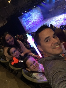 Michael attended Disney on Ice: Worlds of Enchantment - Special Instructions & Information * See Notes Before Claiming! on Nov 9th 2018 via VetTix