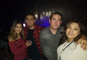 Roxanne attended Cole Swindell and Dustin Lynch: Reason to Drink Another Tour on Nov 2nd 2018 via VetTix