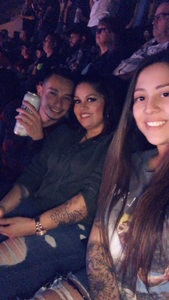 Francisca attended Cole Swindell and Dustin Lynch: Reason to Drink Another Tour on Nov 2nd 2018 via VetTix