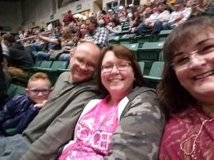 MITCHELL attended Chris Young: Losing Sleep World Tour 2018 - Country on Nov 3rd 2018 via VetTix