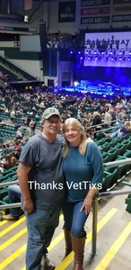 Aaron attended Chris Young: Losing Sleep World Tour 2018 - Country on Nov 3rd 2018 via VetTix