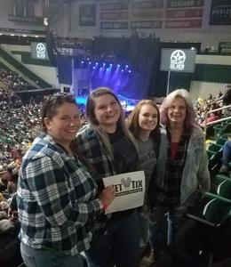 Joyce attended Chris Young: Losing Sleep World Tour 2018 - Country on Nov 3rd 2018 via VetTix