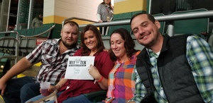 Eric attended Chris Young: Losing Sleep World Tour 2018 - Country on Nov 3rd 2018 via VetTix
