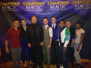 Gustavo attended Champions of Magic - Magic on Nov 3rd 2018 via VetTix